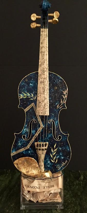violon_céleste_1_Pinkhas_40_iNCH_REAL_ITEM_2016_mixed_media