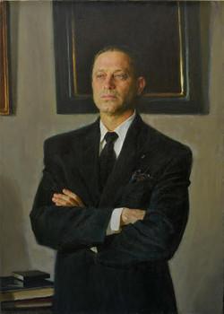 Mark Vcherushanski Riger 1996 102x72 Oil on canvas