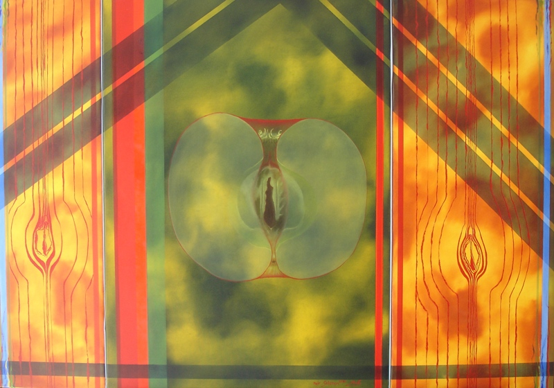 aMeir Solomon n apple s, 70x100 cm, 2011