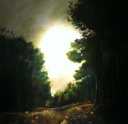 SARIT GURA  AMUKA FOREST  120x120 cm  Oil on canvas.jpg