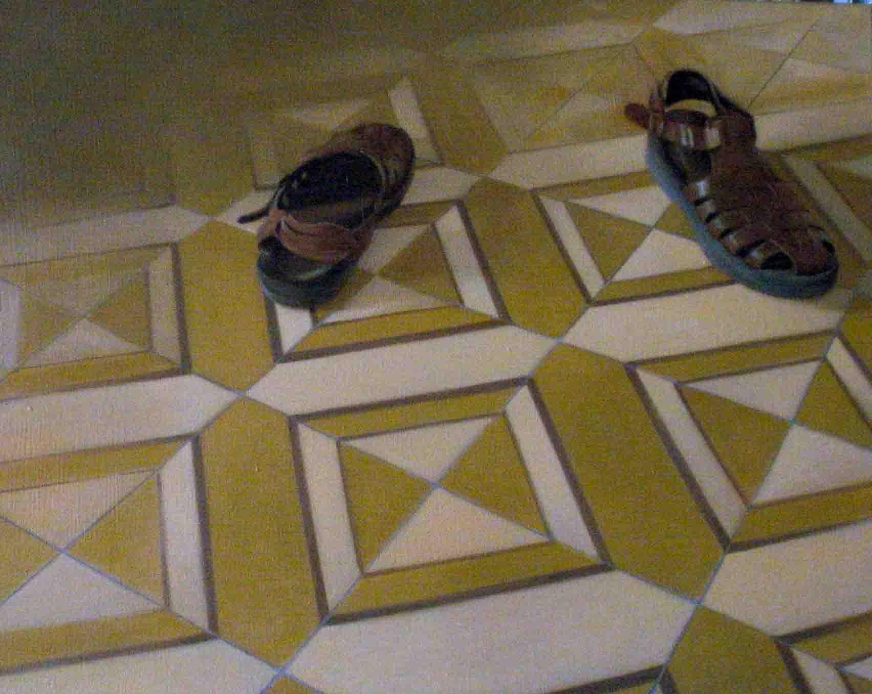 sandals- 40x50