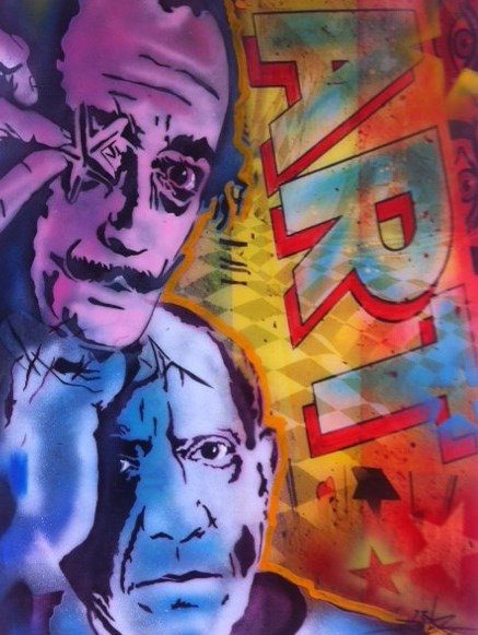 PSICassoDalique Art    100x76cm    DAN GROOVER Perspex.jpg