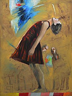 Euphoria 75x100 cm oil on canvas