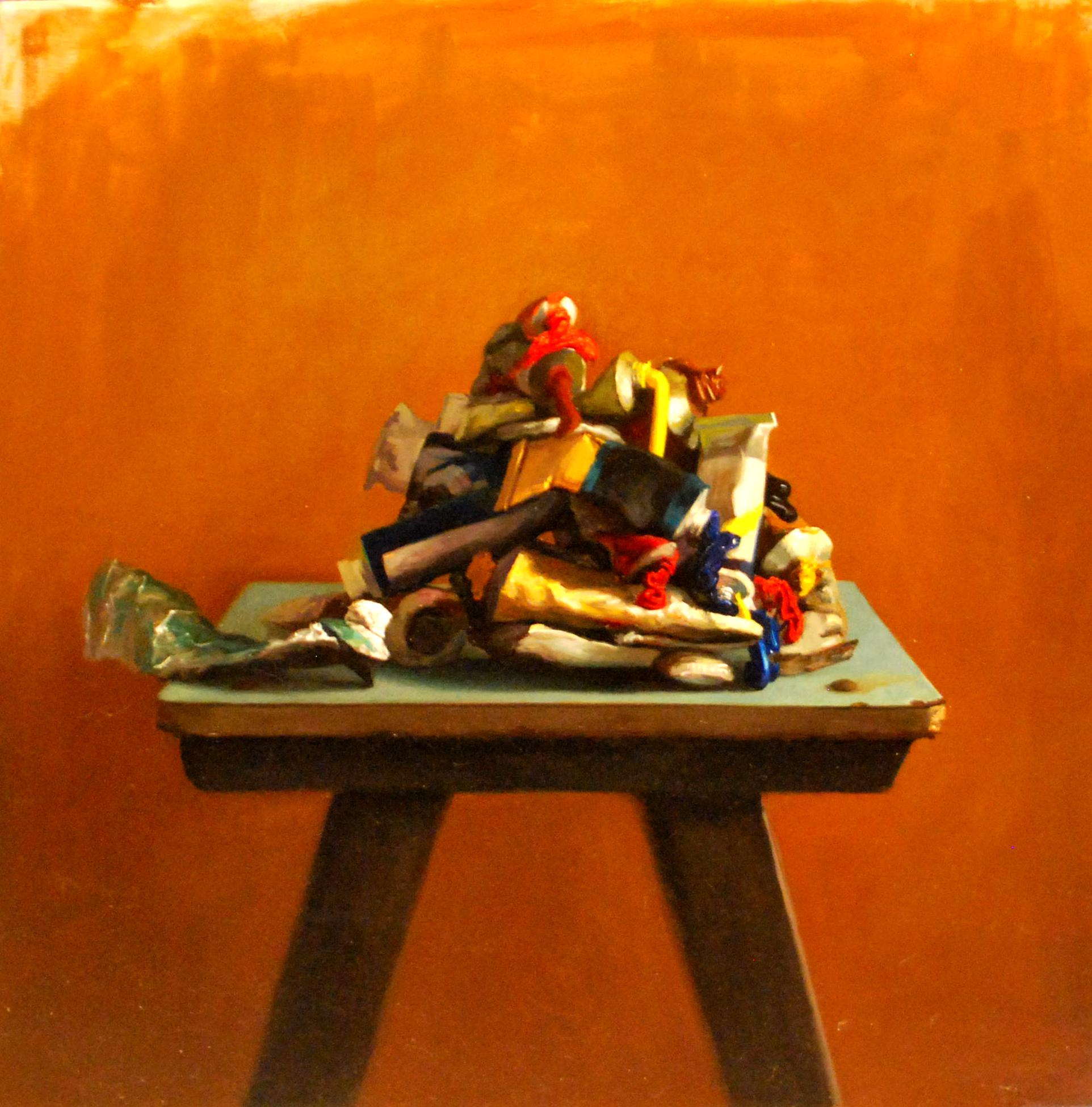 paint pile