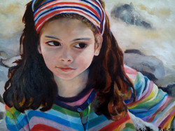 Sivan Rotem Little Or Oil on Canvas 60.40