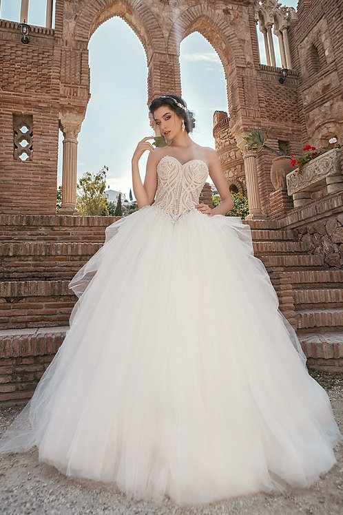 Ivory Bridal Ball Gown Size 2