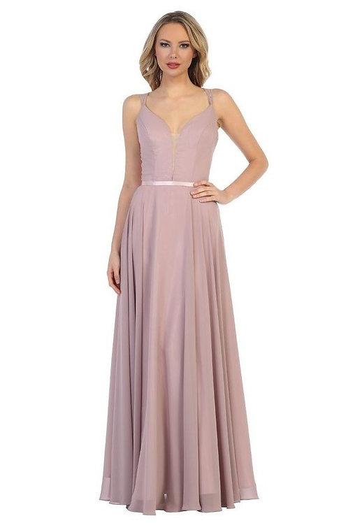 Mauve Long Dress Size 4X