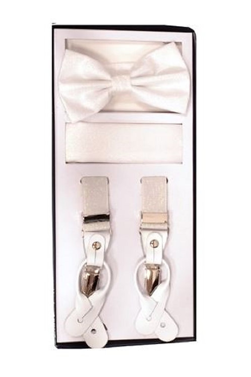 Pearl Metallic Suspender Set