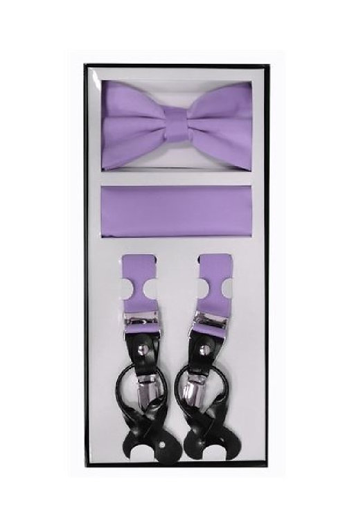Lavender Suspender Set