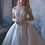Thumbnail: Light Gold Sparkle Bridal Ball Gown Size 12