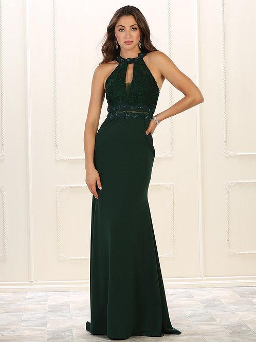 Hunter Green Lace Top Dress Size 4