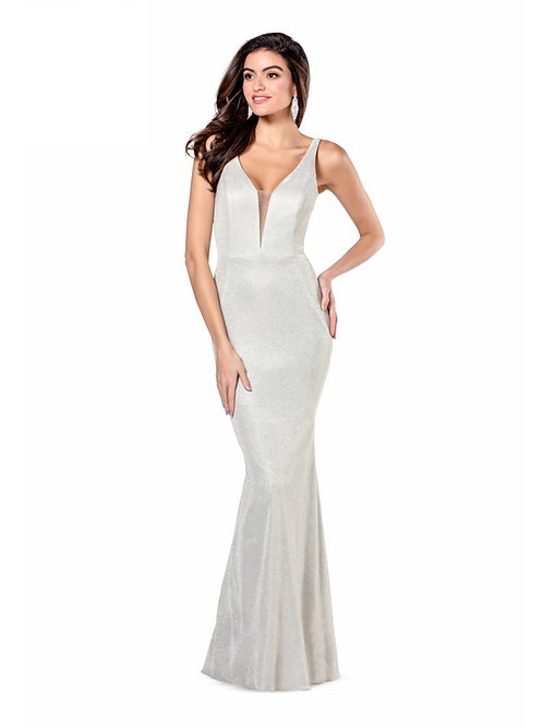 Champagne Sparkle Fit & Flare Size 4