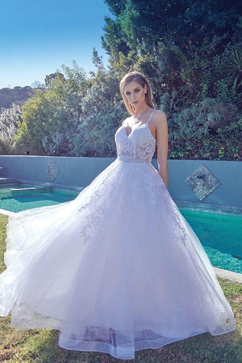 Off White Lace Bridal Ball Gown Size S, XL, 2XL, 3XL
