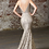 Thumbnail: Champagne Glitter Long Dress Size 10