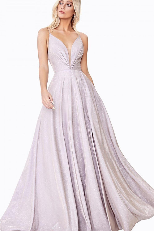 Champagne Glitter Bridal Gown