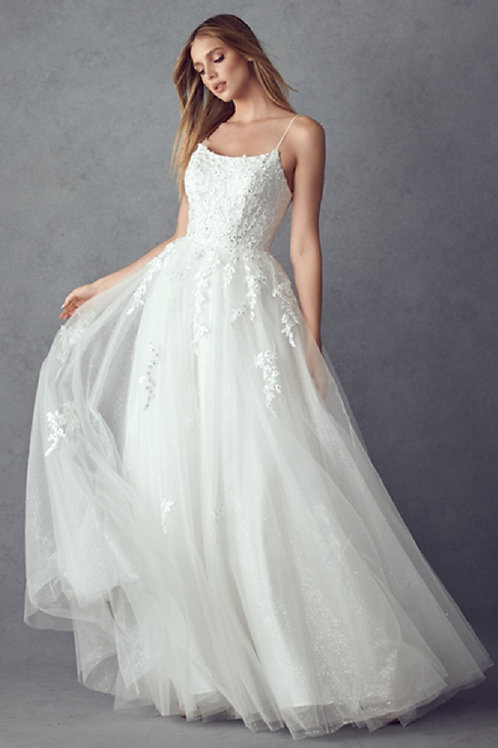 Off White Lace Bridal Ball Gown Size XS