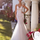 Thumbnail: White Lace Fit & Flare Bridal Gown Size 12