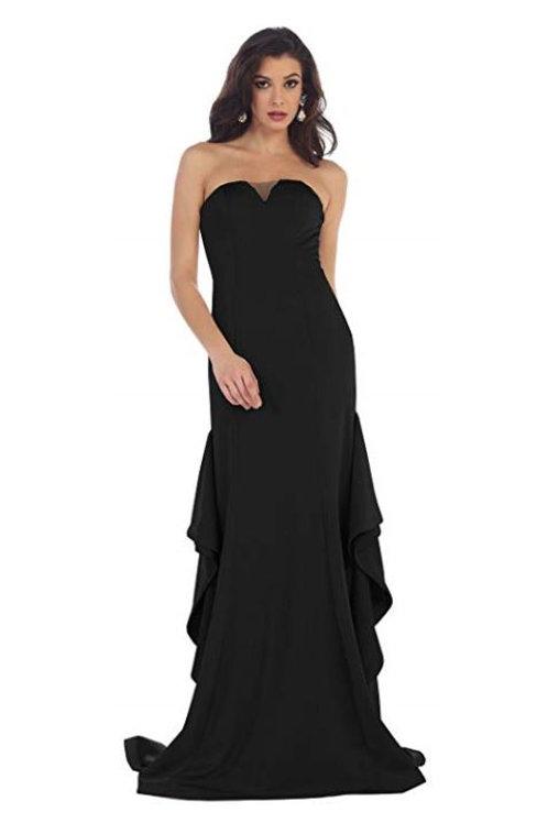 Black Strapless Dress Size 6