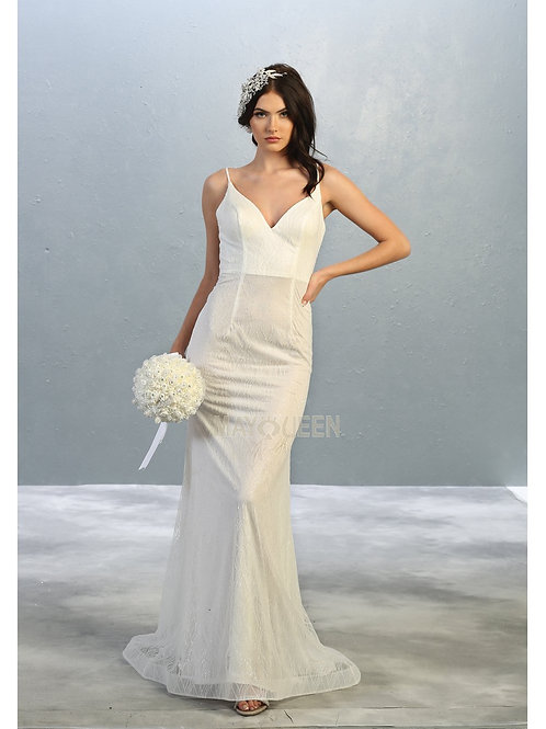 Ivory Fit & Flare Bridal Gown Size 6