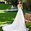 Thumbnail: White Lace A-Line Bridal Gown Size 10