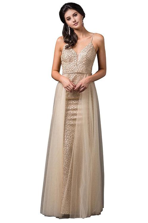 Gold Glitter Bridal Gown Size 2XL