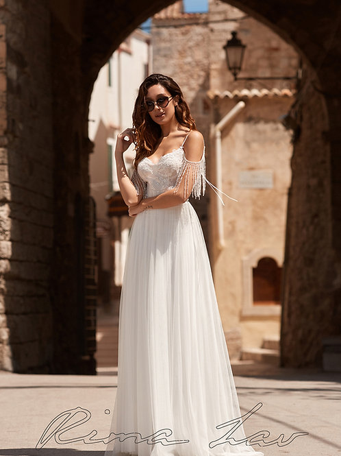 Ivory A-Line Bridal Gown Size 10