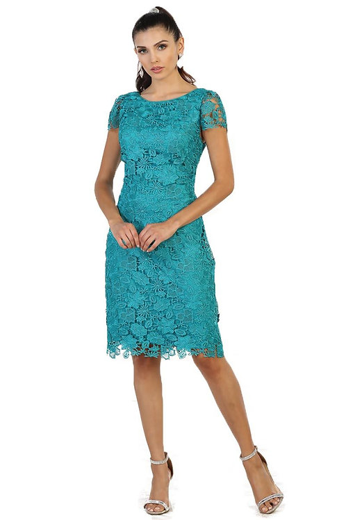 Jade Lace Short Dress Size 3XL