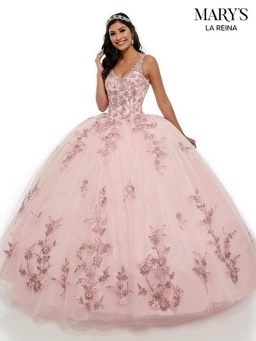 Blush Glitter Ball Gown size 10