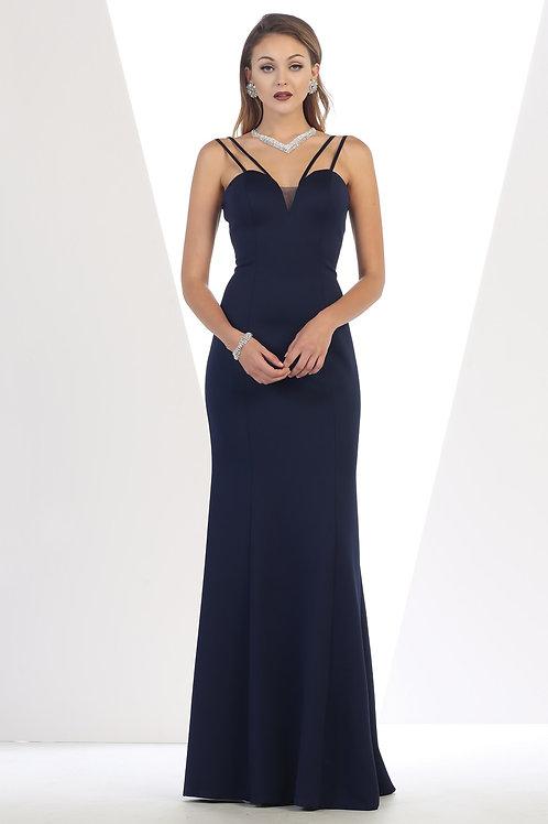 Navy Long Dress Size 4