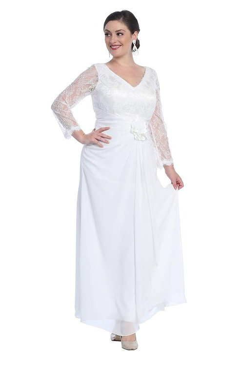 Ivory A-Line Bridal Gown Size 4X & 5X
