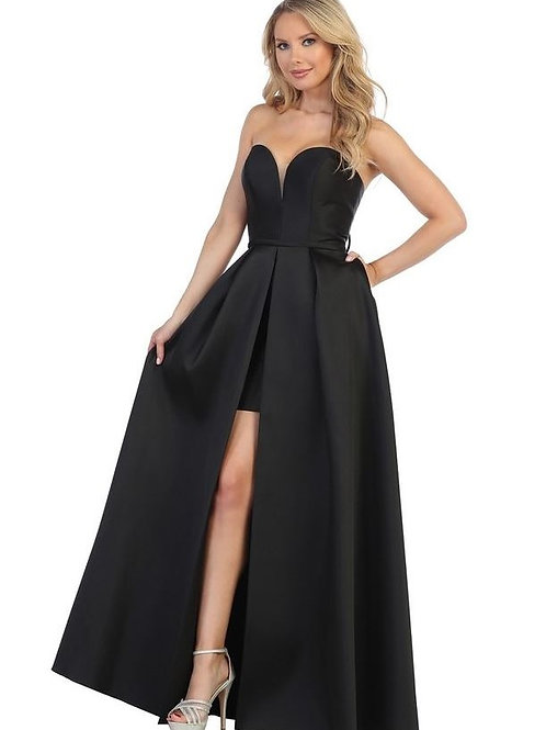 Black Sweetheart Long Dress Size XS