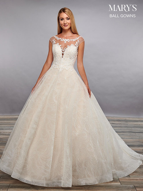 Ivory Lace Bridal Gown Size 18