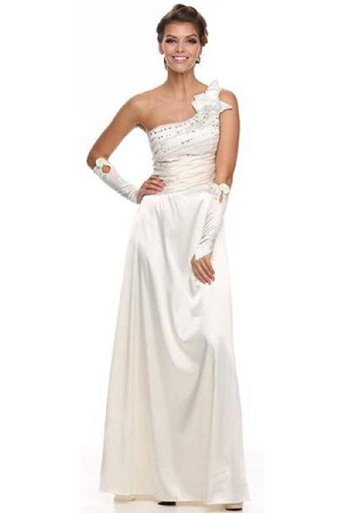 Ivory Asymmetric Bridal Gown Size XS