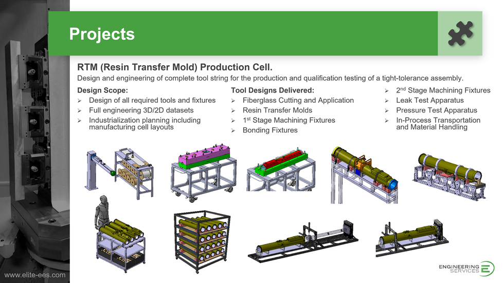 RTM Production Cell