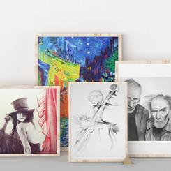 Sketches & Paints