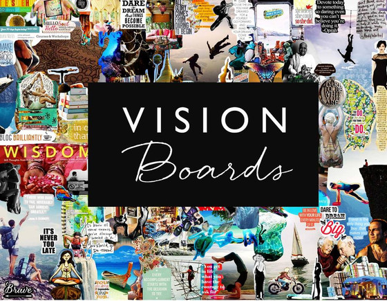 I Feel the Power of My Vision Boards