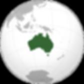 موقع أستراليا