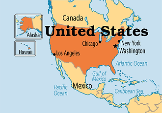 USA location