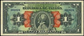 panama banknotes