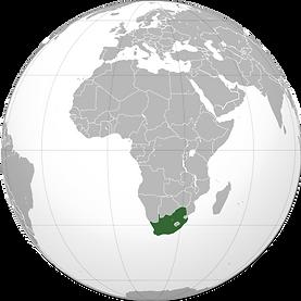 موقع جنوب أفريقيا