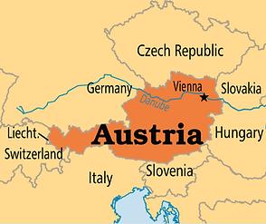 Auatria location