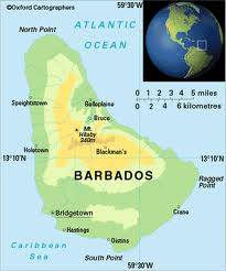 موقع البربادوس