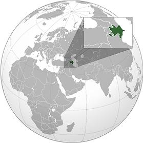موقع أذربيجان