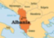 Albania Location