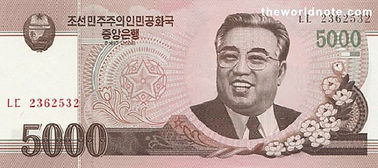 Korean People's won (₩) (KPW).jpg