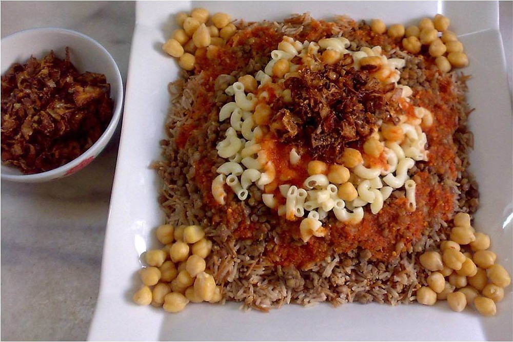 Koshari Egyptian food