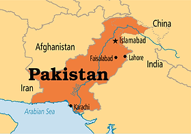 pakistan location