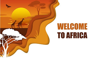 welcome-to-africa-poster-paper-cut-vecto