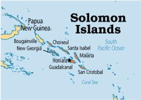 Solomon Islands location