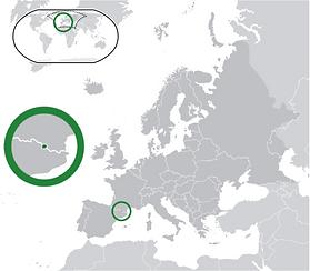 Andorra Location